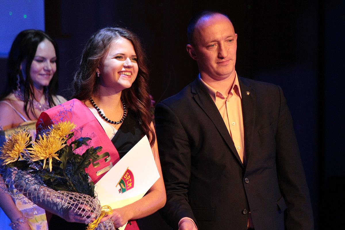 Александра Борисенко – победитель областного тура республиканского конкурса «Студент года»