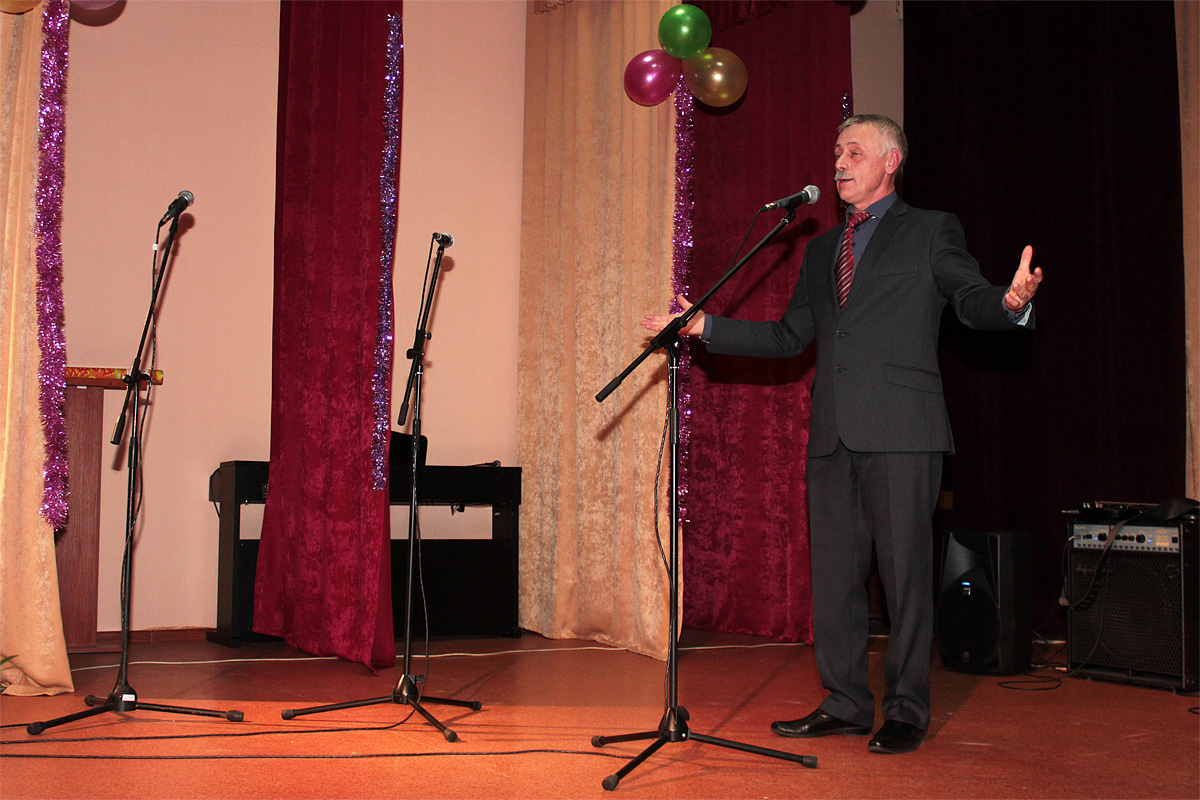 Юрий Пшевлоцкий – директор Крошинского Дома культуры