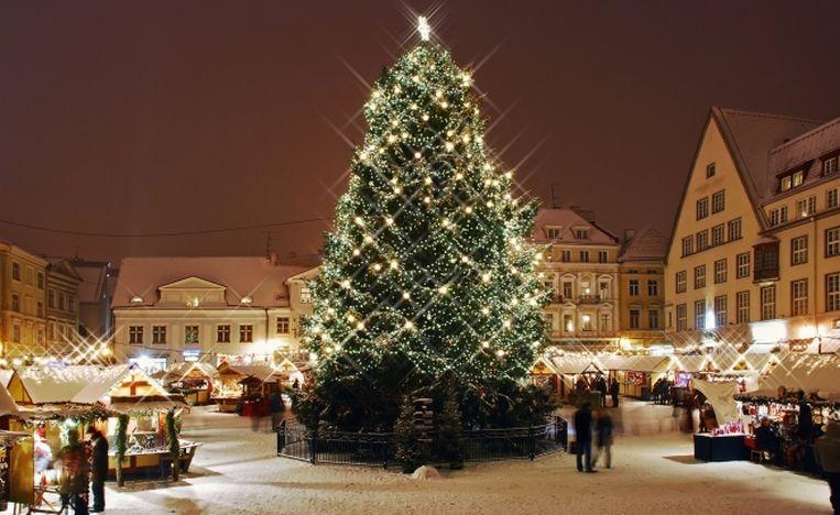 Таллин.Фото с сайта christmasmarket.ee