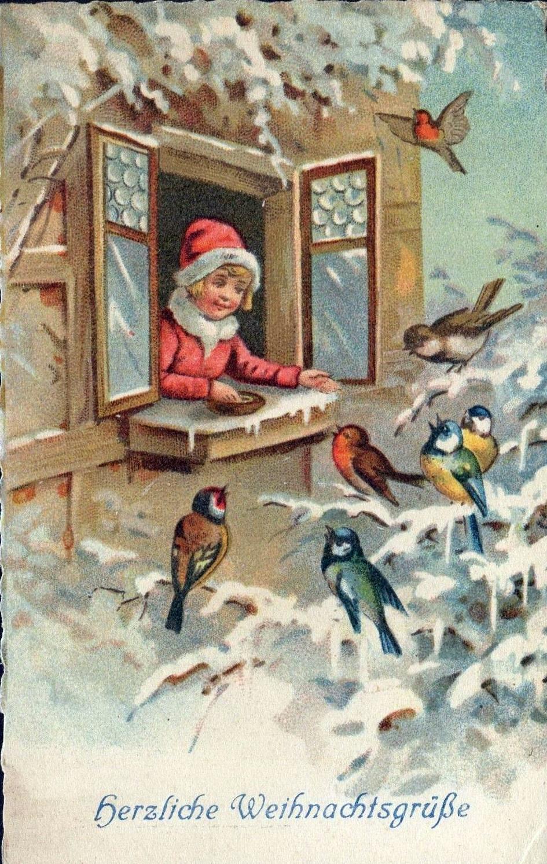 Старая калядная паштоўка. Фота: ebay.com
