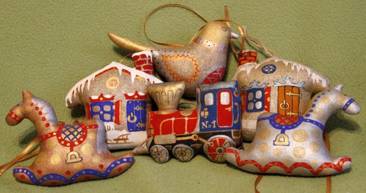 Пряничные игрушки. Фото: архив Натальи ЯНКОВСКОЙ