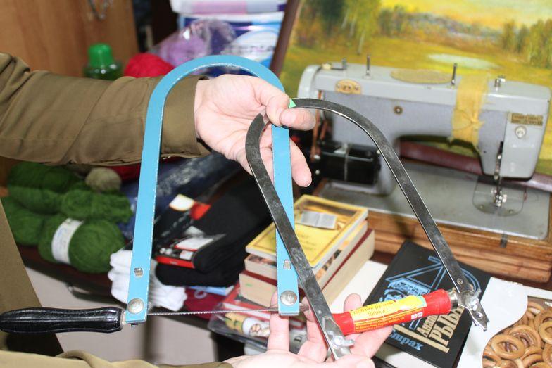 Лобзики для Михаила Мосейчука. Фото: Татьяна МАЛЕЖ