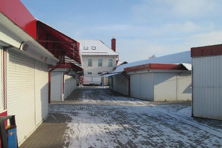 Предприниматели Полесского рынка остановили работу в начале января. Фото: Александр ВОЙТЕШИК