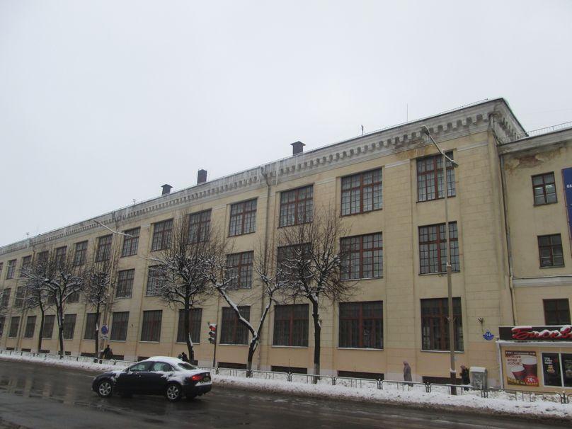 Швейная фабрика. Фото: Татьяна НЕКРАШЕВИЧ.