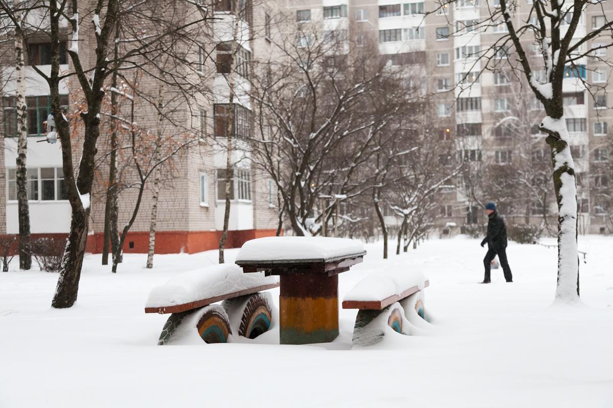 Дворовая территория на ул. Наконечникова. Фото: Александр КОРОБ
