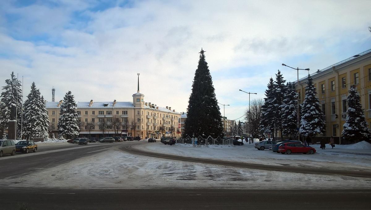 Городская елка. Фото: Руслан РЕВЯКО