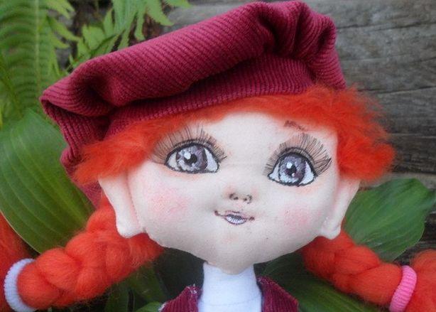 Кукол Кати Пинаевой отличают большие глаза. Фото из архива Кати Пинаевой.