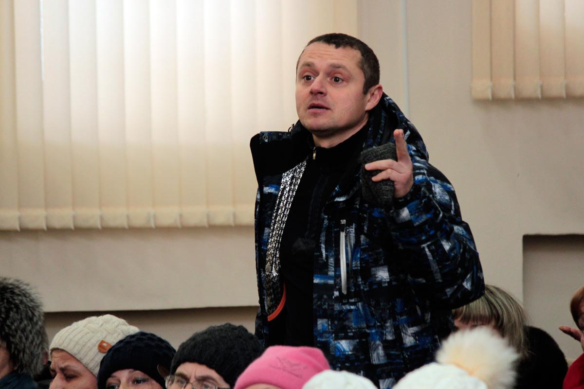 25 января в горсовете состоялась встреча более 200 индивидуальных предпринимателей с властями города. Фото: Юрий ПИВОВАРЧИК