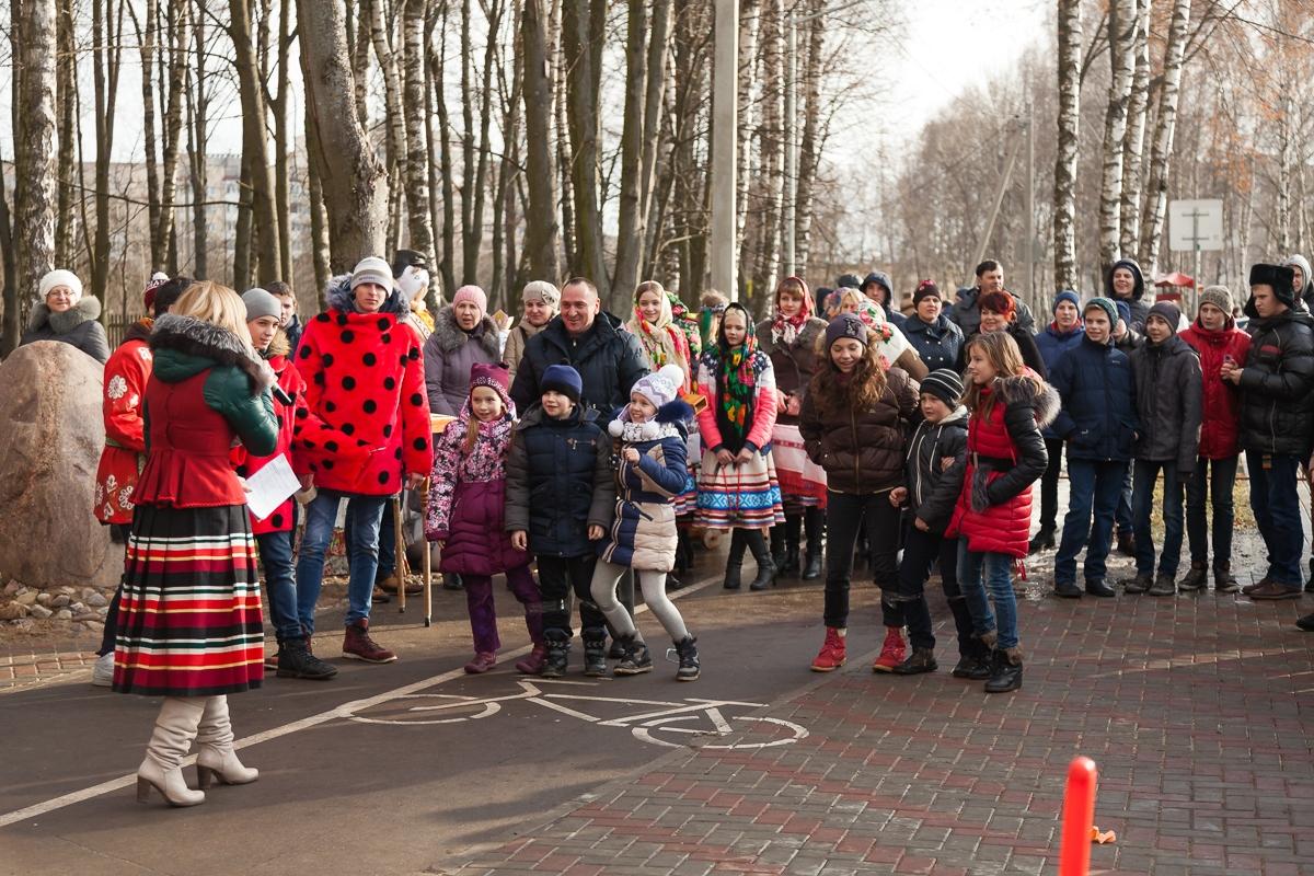 Парк Натхнёныя Перамогай, 30 января. Фото: Александр КОРОБ