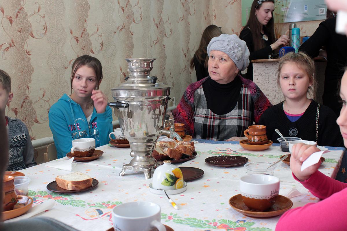 Фитобар Чабарок на станции юннатов. Фото: Юрий ПИВОВАРЧИК