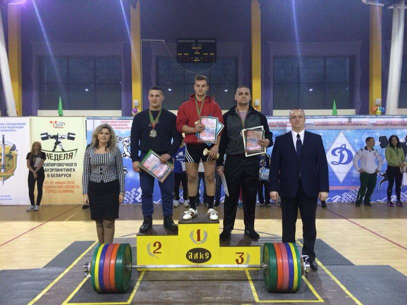 В своей весовой категории Антон Тихенко стал абсолютным чемпионом республики. Фото: архив Сергея САКОВИЧА