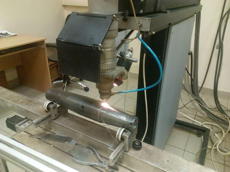 Восстановление цилиндра методом лазерной наплавки. Фото: Анна РОМАНОВА-КОЛОСОВСКАЯ
