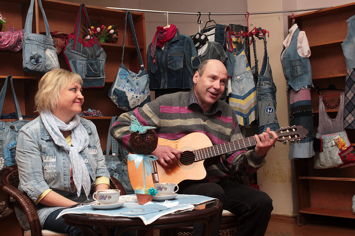 Галина Лис и Сергей Карпович
