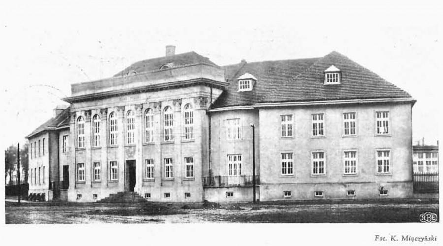 Будынак банка ў міжваенны час. Фота: Bank Polski