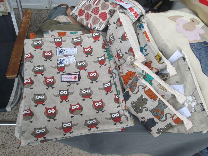 Экологические сумки из хлопка и льна. Фото: Татьяна НЕКРАШЕВИЧ
