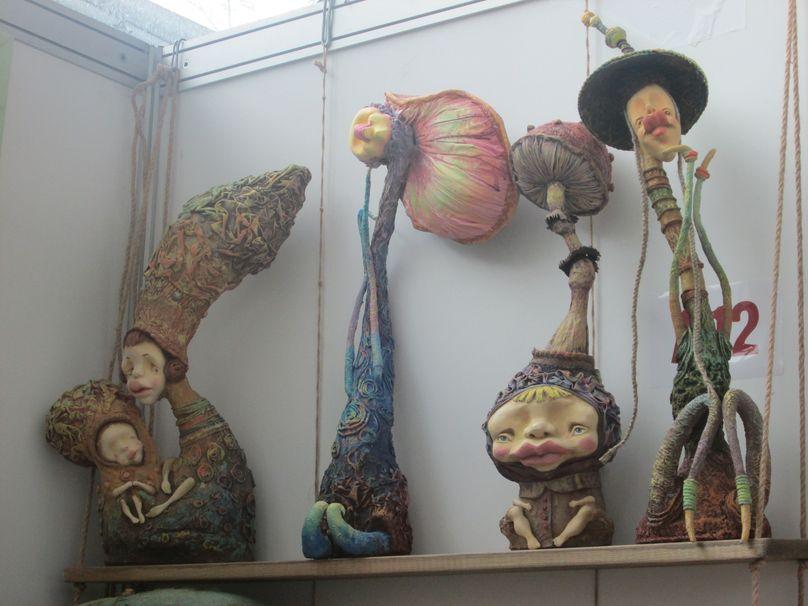 Авторские игрушки из войлока. Фото: Татьяна НЕКРАШЕВИЧ