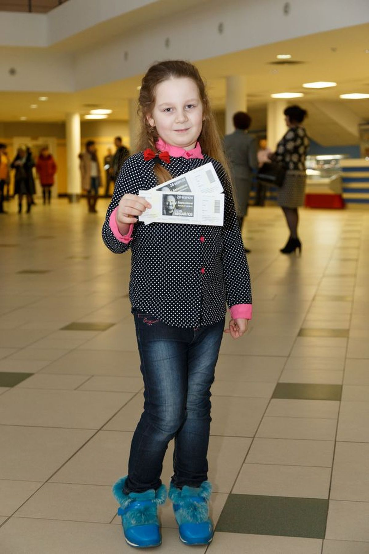 Семилетняя Нелли. Фото: Александр КОРОБ
