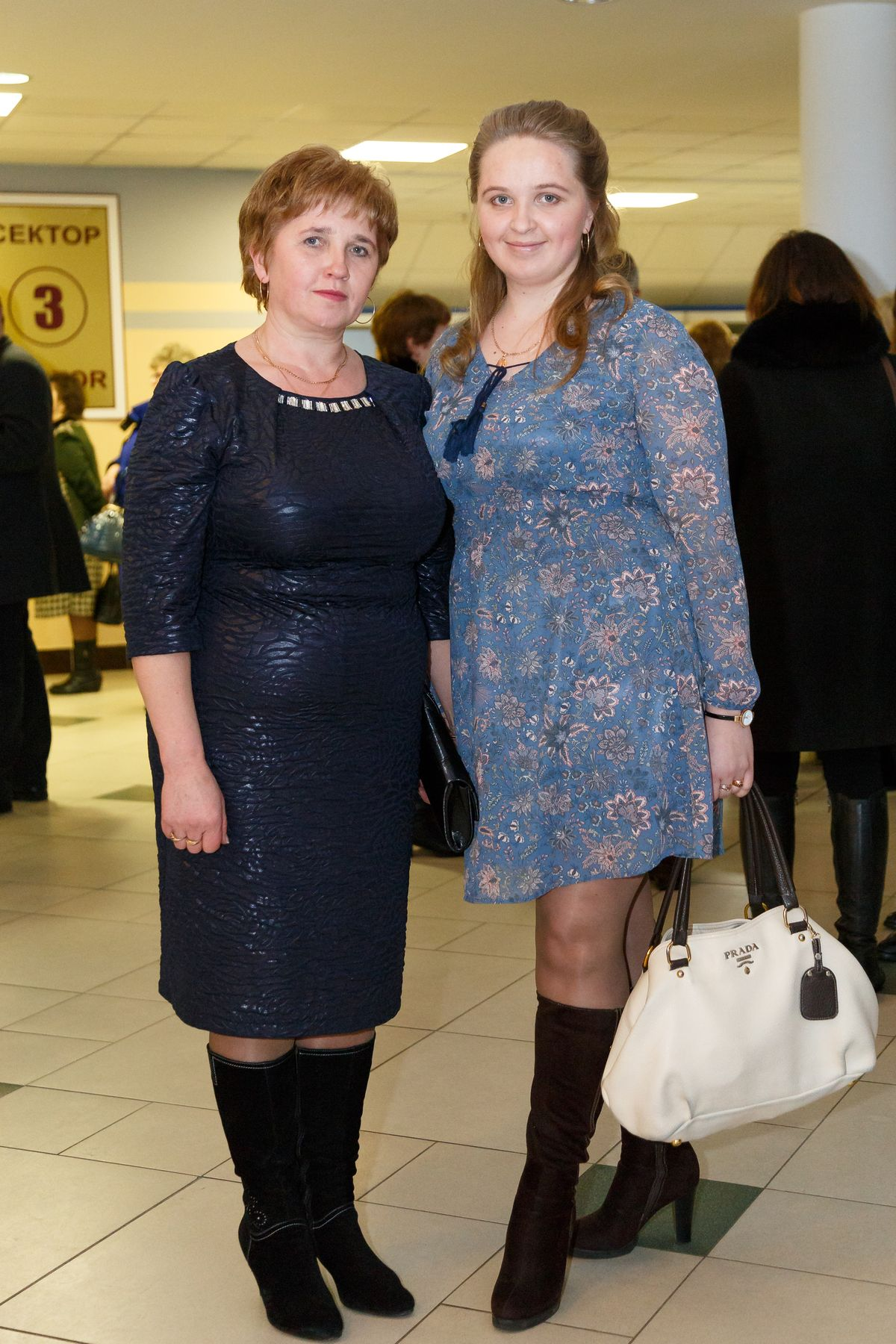 Каролина с мамой Аллой. Фото: Александр КОРОБ