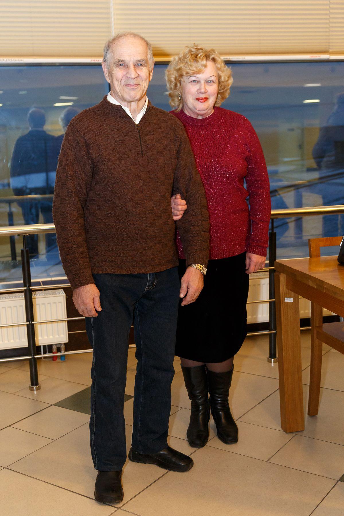 Супруги Людмила и Иван. Фото: Александр КОРОБ