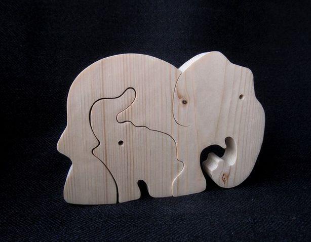 Слон-пазл. Автор – Виктор Даркович. Фото из архива мастера.