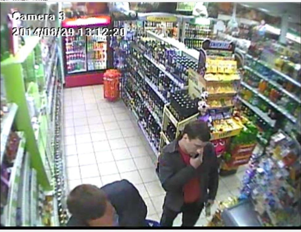 Барановичским ГОВД устанавливаются личности двух мужчин, которые совершают кражи продуктов в магазинах города