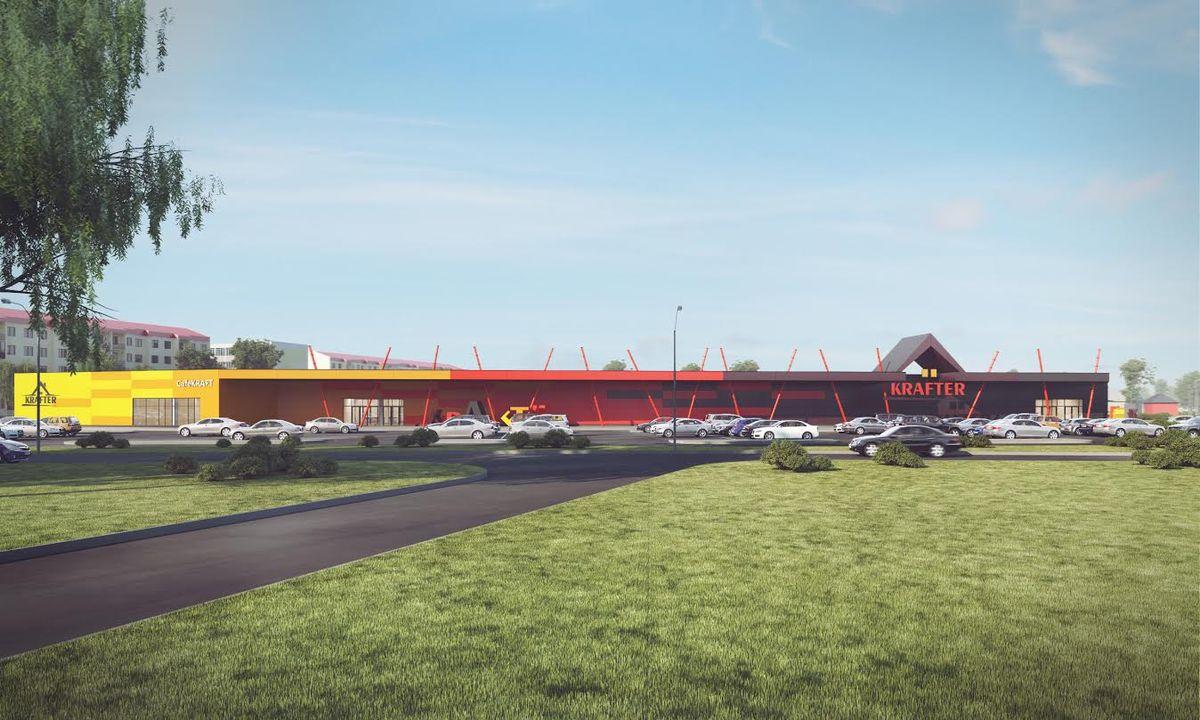 Территорию вокруг гипермаркета озеленят, а также создадут тротуарную сеть с микрорайоном