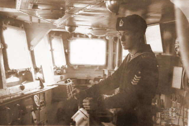 Виталий Петровский во время службы в армии. Фото: архив Виталия ПЕТРОВСКОГО.