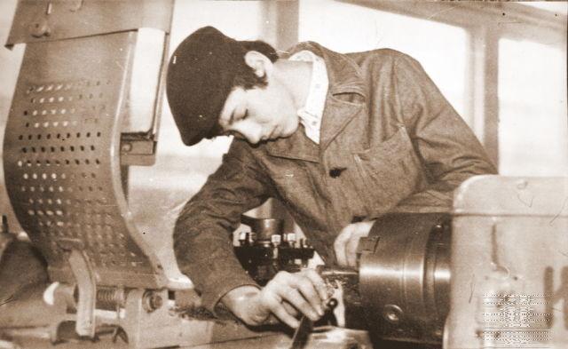 ГПТУ-118 г. Барановичи. Виталий Петровский во время учебы в училище. Фото: архив Виталия ПЕТРОВСКОГО