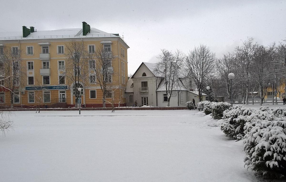 Заснежаны сакавік-2016. Фота: Руслан РАВЯКА