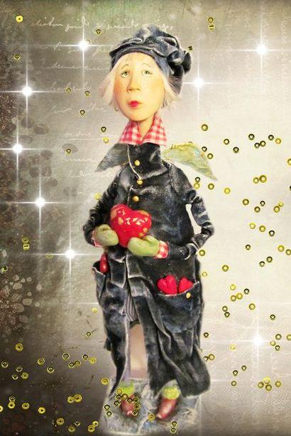 Ангел из джинсовой коллекции. Фото: архив Ларисы Матюшенковой.