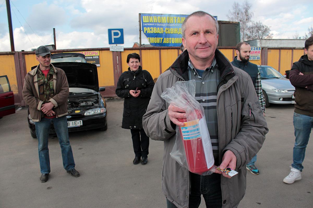 Сергей Плискевич с главным призом