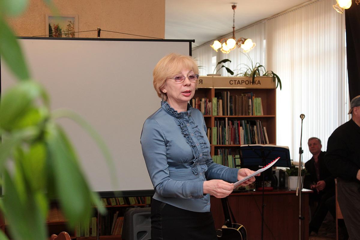 Супрацоўнік бібліятэкі Лілія Кашыцкая
