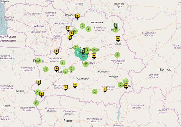 В общей сложности на карту уже нанесены десятки свалок по всей стране