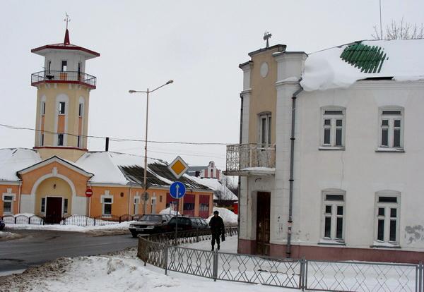 Снос одного из зданий уничтожит исторический архитектурный ансамбль. Фото: Алесь ГИЗУН
