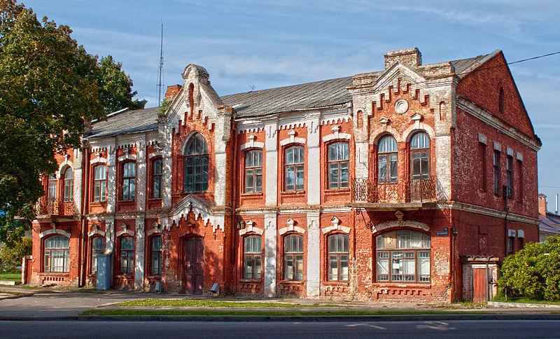 Будынак акцызнага ўпраўлення. Фота: Alena by https://commons.wikimedia.org