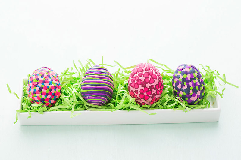 Пластилиновые яйца. Фото: сайт vtemu.by