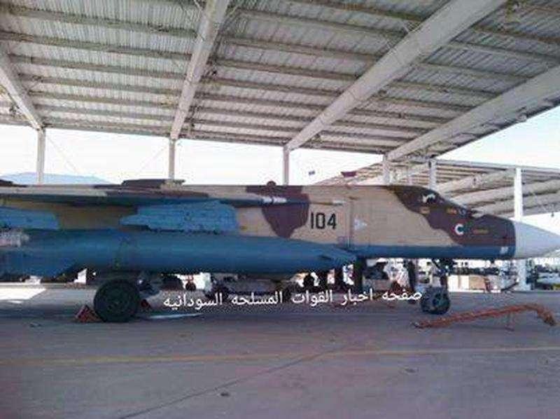 СУ-24, поставленный в Судан в 2013 году. Фото: topwar.ru
