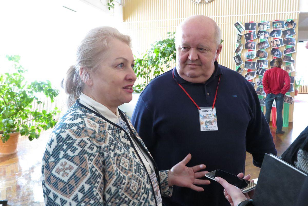 Члены жюри Валентина Хасаншина и Иван Кицун говорят, что им сложно выбрать лучших из лучших.