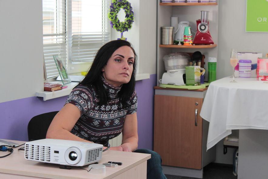 Марина Пилинога делится своими секретами красивой фигуры. Фото: Юрий ПИВОВАРЧИК.