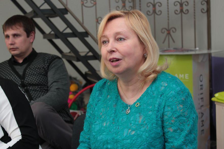 Директор Дома Орифлейм Ирина Ивтушок. Фото: Юрий ПИВОВАРЧИК.