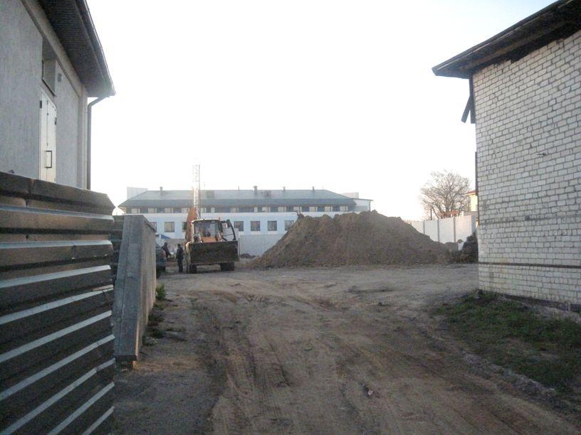 Место обнаружения артефактов. Фото: Татьяна НЕКРАШЕВИЧ.