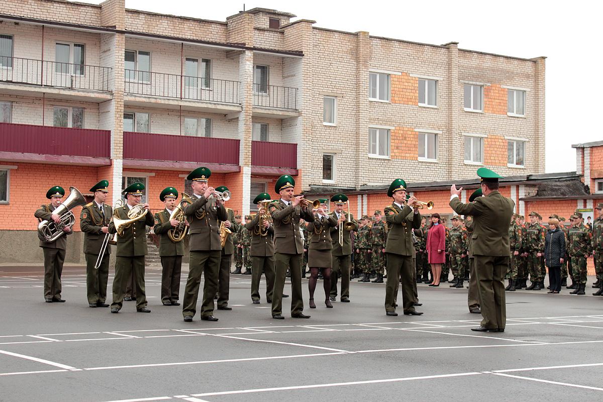 Военный оркестр Пинского пограничного отряда