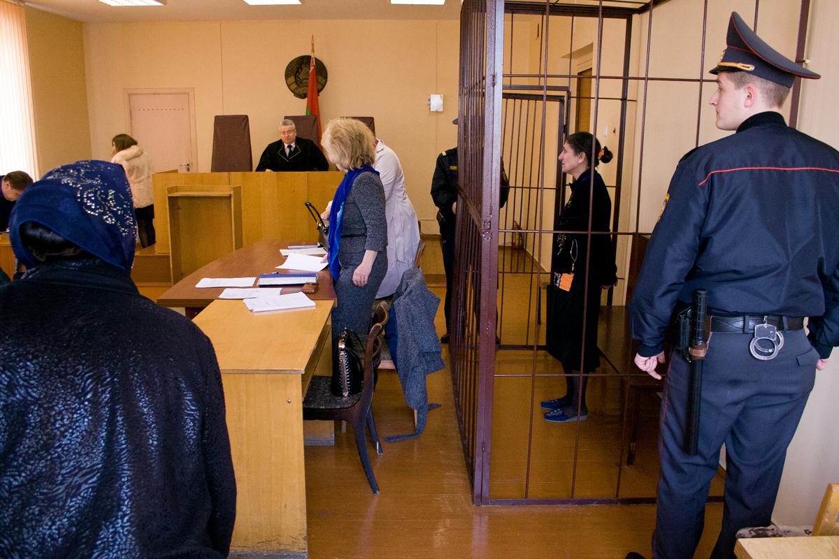 Начало заседания суда. Фото: Евгений ТИХАНОВИЧ