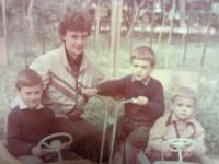 Татьяна Куликова с детьми
