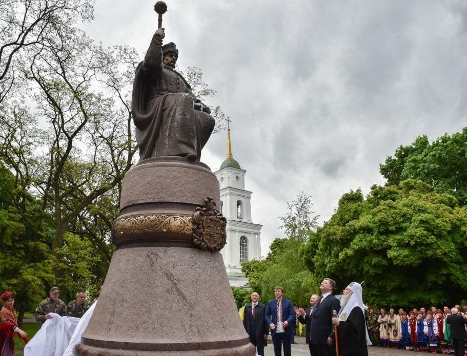 Памятник Мазепе в Полтаве. Фото: сайт obozrevatel.com