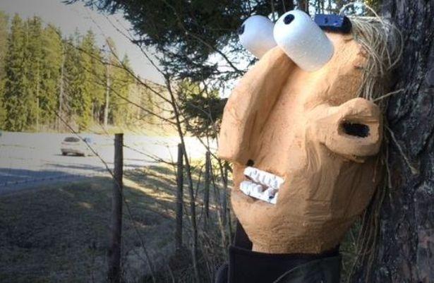 Не все финны восприняли появление скульптур у дороги позитивно. Фото: сайт yle.fi