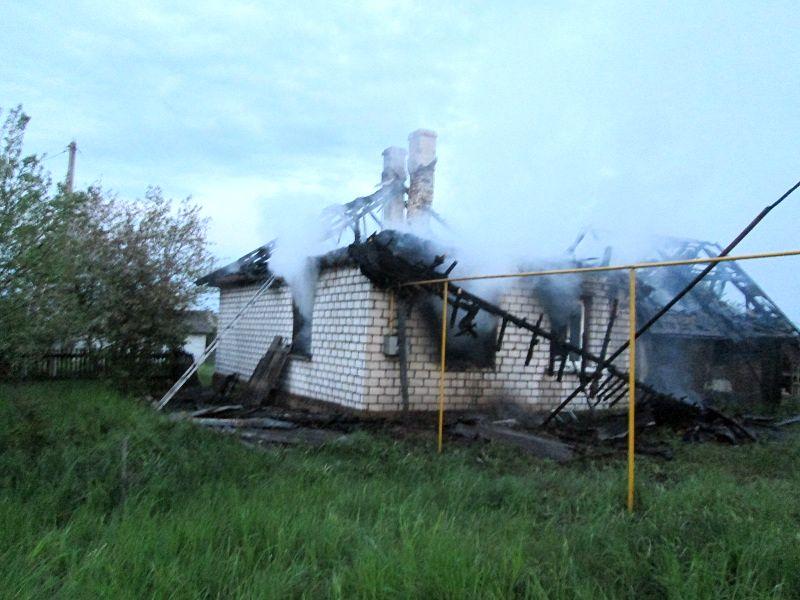 Пожар в Столовичах