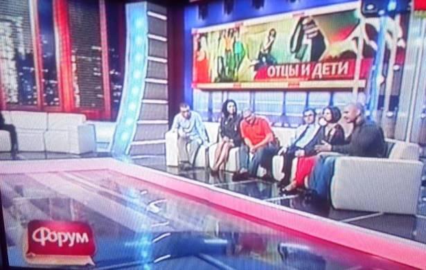 Студия ток-шоу Форум. Эфир 16 мая. Фото: Татьяна НЕКРАШЕВИЧ