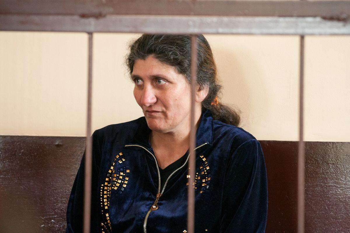 Свекровь Любови Базылевич в ожидании приговора. Женщина три месяца находилась под стражей