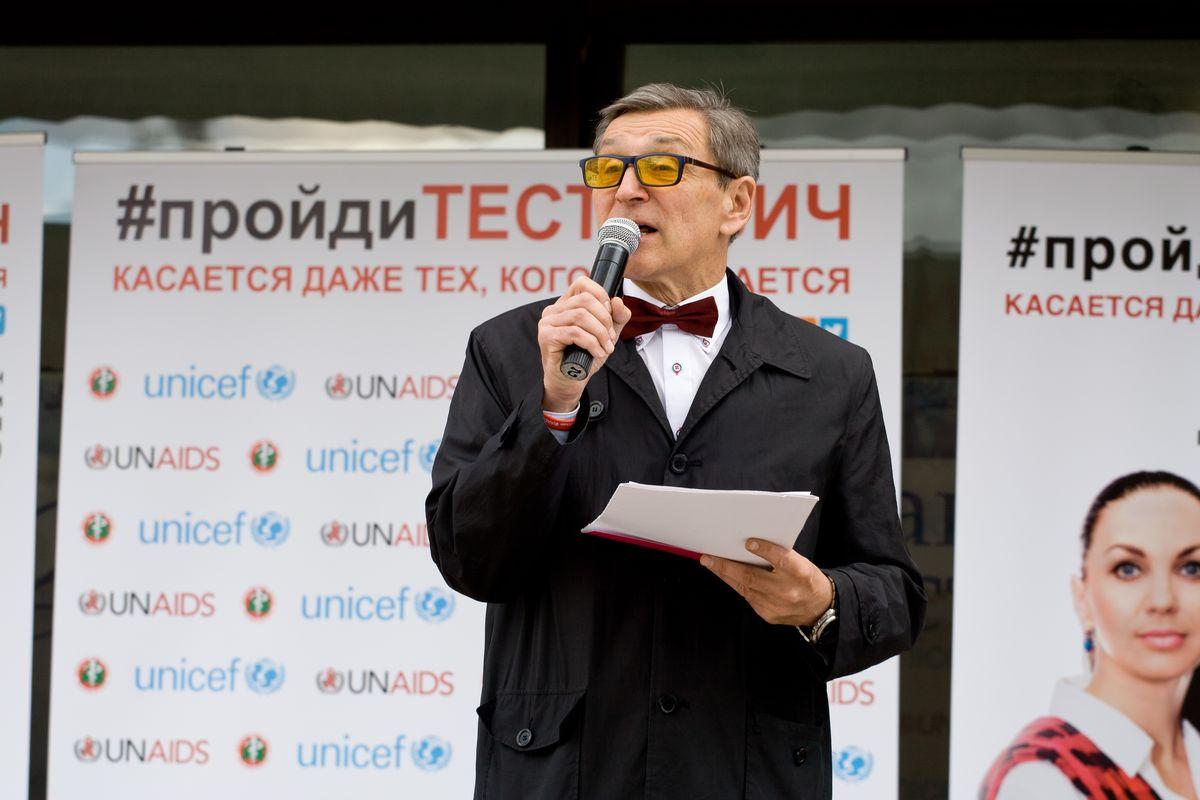 Председатель экспертного совета информационной стратегии по ВИЧ/СПИД в Беларуси Сергей Кручиник.
